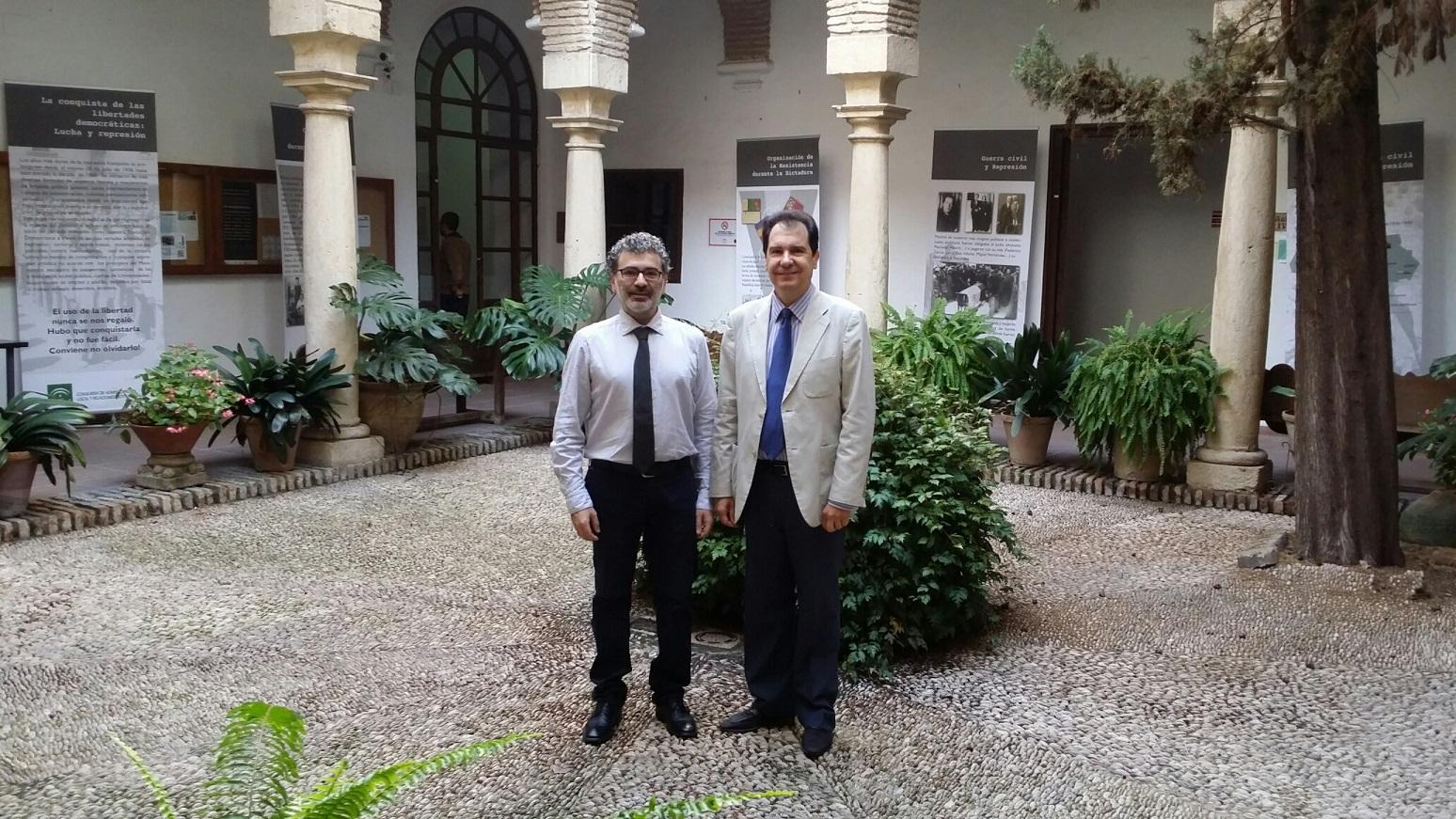 Gabriele Rossetti e Juan Carlos Martinez Ortega