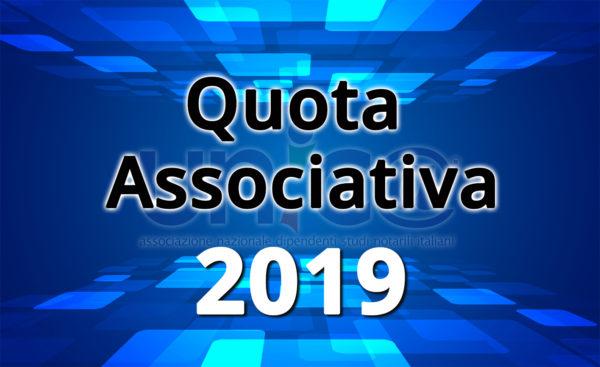 Quota annuale 2019