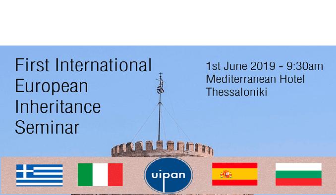 Primo Seminario Internazionale sull'Eredità – Uipan